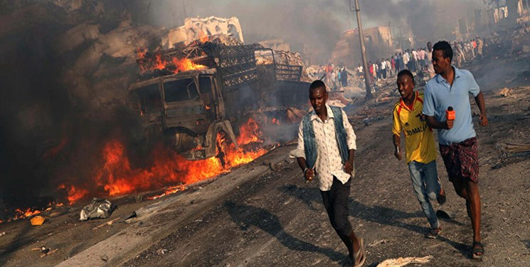 انفجار خونین در یک استادیوم ورزشی سومالی