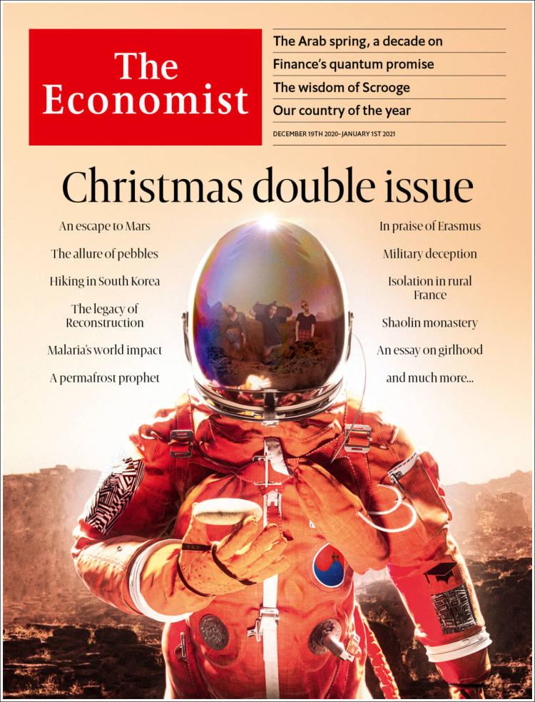 صفحه اول مجله اکونومیست