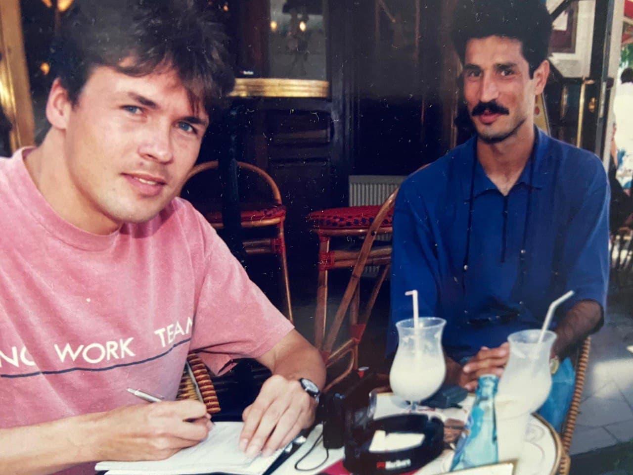 اولین مصاحبه علی دایی در بیلهفلد