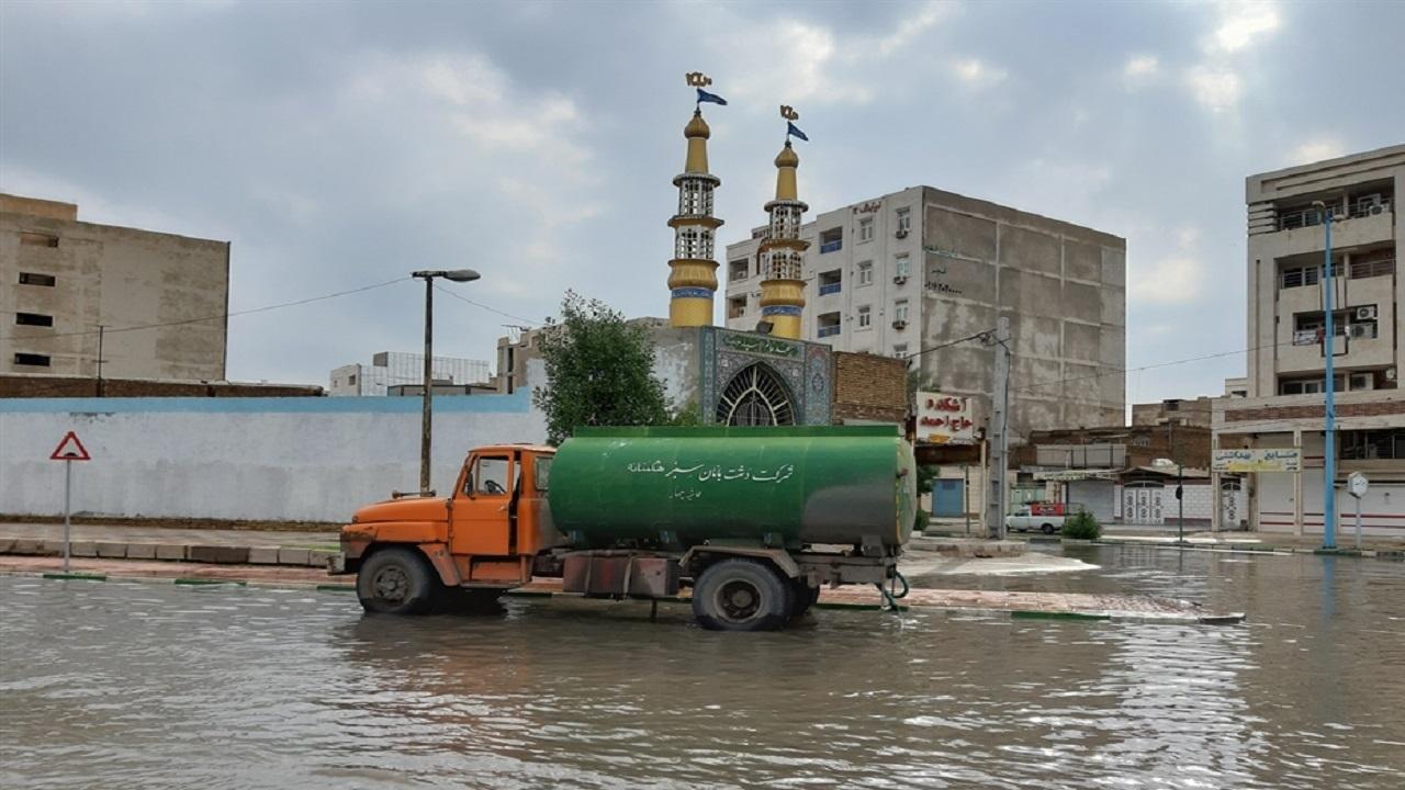 قصه ناتمام بارندگیها در اهواز