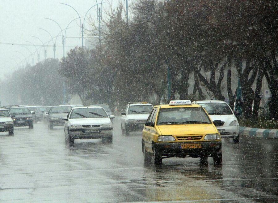 پیشبینی بارش باران و برف در استان سمنان