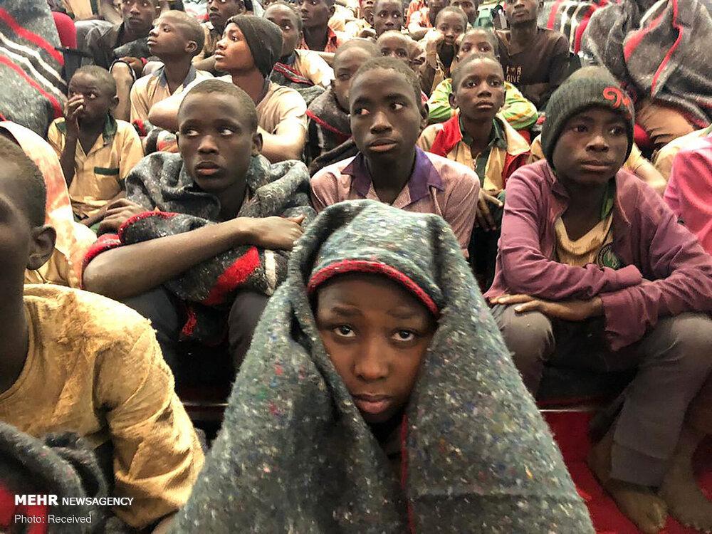 عکس/ آزادی دانش آموزان نیجریه ای از دست بوکوحرام