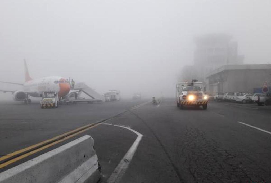 ابطال یا تأخیر ۱۷ پرواز ورودی و خروجی فرودگاه اهواز به خاطر مه