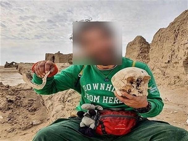 حکم تعزیری؛ پایان کار بلاگر تخریبگر آثار باستانی سیستان