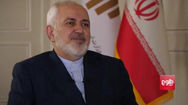 ظریف: ایران هنوز طالبان را از لیست تروریستی خارج نکرده است
