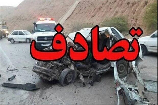 تصادف رانندگی در محور اشکنان _اهل ۲ کشته برجا گذاشت