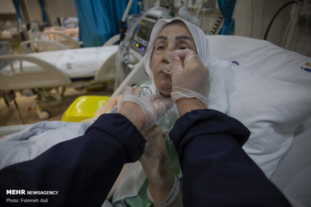 عکس/ روزهای کرونایی از نگاه پرستاران