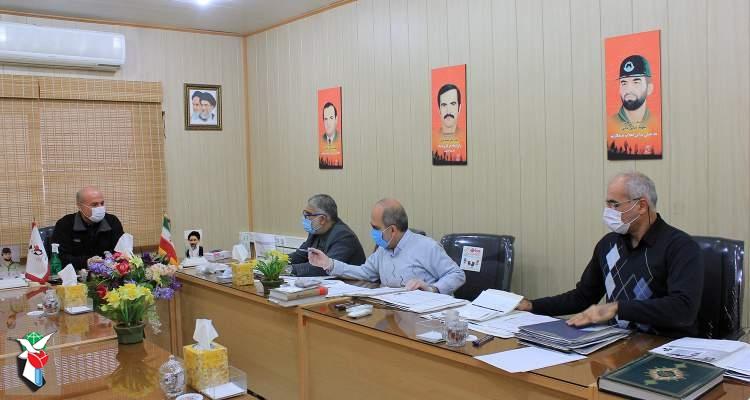 پرونده ۴۰ جانباز استان قزوین بررسی شد