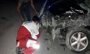 تصادف تریلر و پژو در جنوب فارس ۳کشته داشت