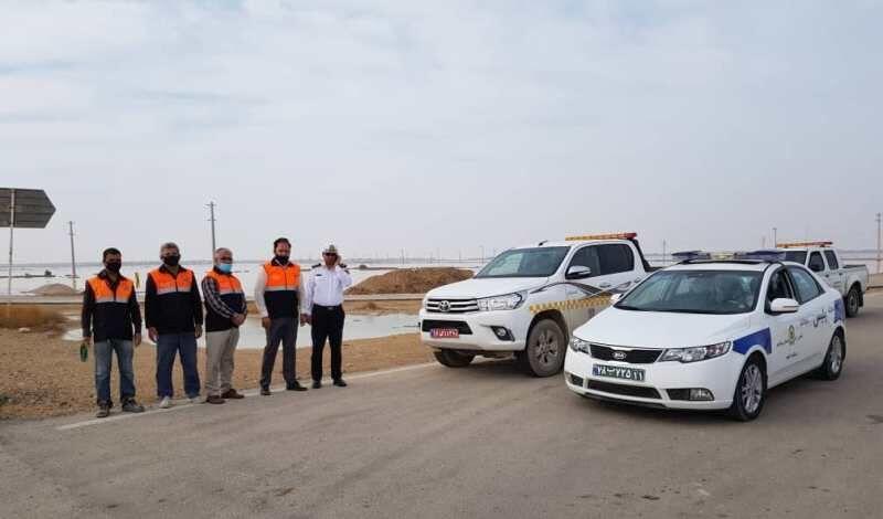 جاده ساحلی گناوه - بوشهر بازگشایی شد