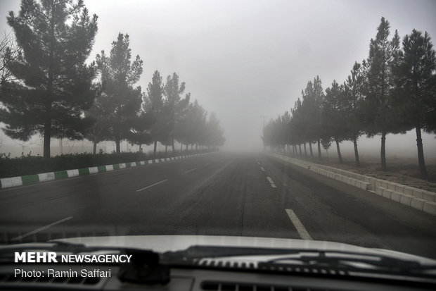تداوم مه گرفتگی تا اواسط هفته در شهرستان دهلران