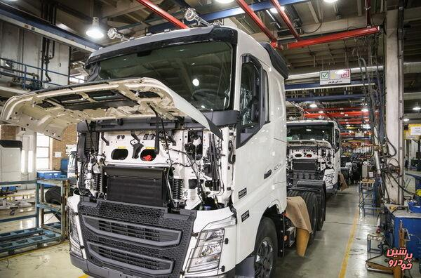 انعقاد قرارداد با خودروسازان داخلی برای تولید کامیون های مرغوب