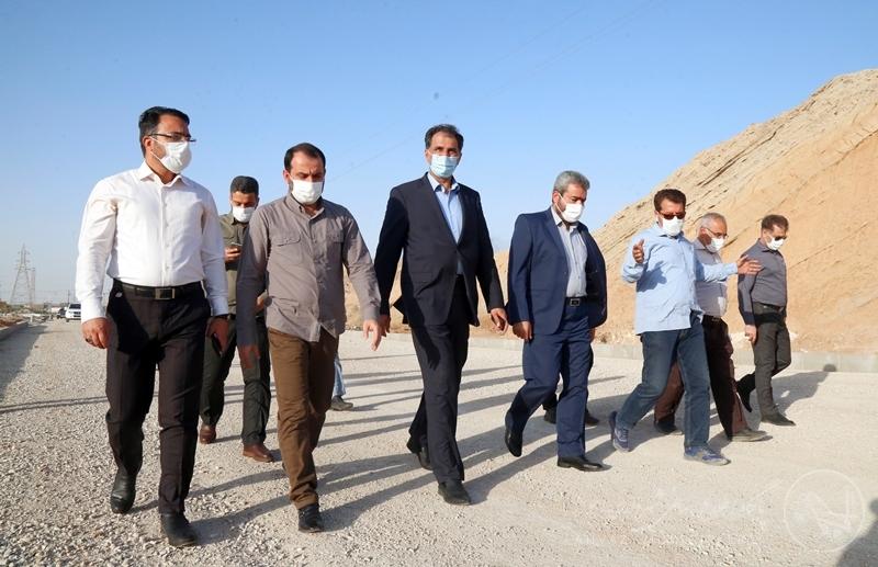 عکس/ بازدید رئیس مجمع نمایندگان خوزستان از پروژههای عمرانی شهرداری اهواز