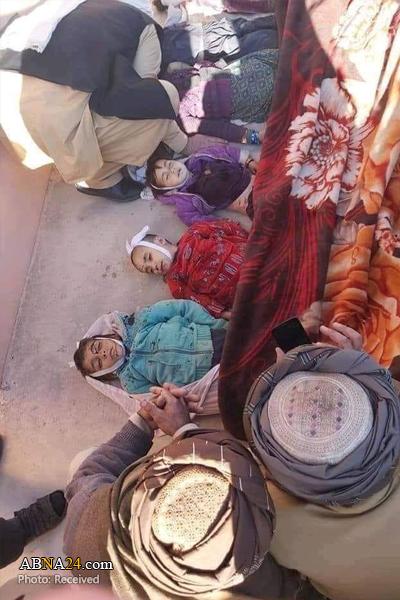 عکس/ کودکان جان باخته بر اثر انفجار در غزنی افغانستان