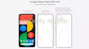 حق اختراع جدید گوگل دوربین زیر نمایشگر Pixel 6 را پیشنهاد میدهد