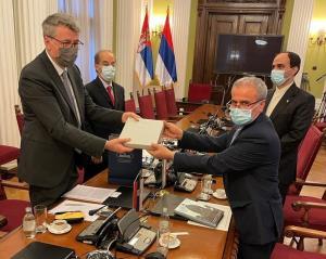 صربستان: توسعه روابط با ایران اولویت ما است