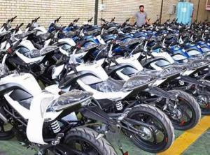 قیمت انواع موتورسیکلت در هشتم دی
