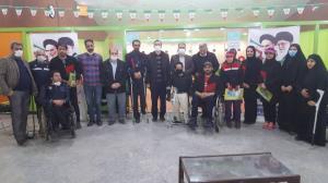 مسابقات تیراندازی معلولین در قم برگزار شد