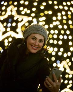 چهرهها/ لاله اسکندری در شب کریسمس