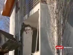 تخریب ویلای غیرقانونی در فیروزکوه