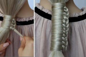 با بافت موی یک طرفه زیباتر می شوید
