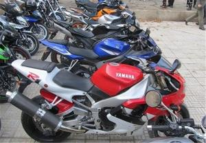 قیمت روز انواع موتورسیکلت در بازار تهران
