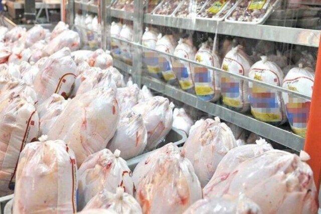 کاهش خریداران مرغ در گیلان