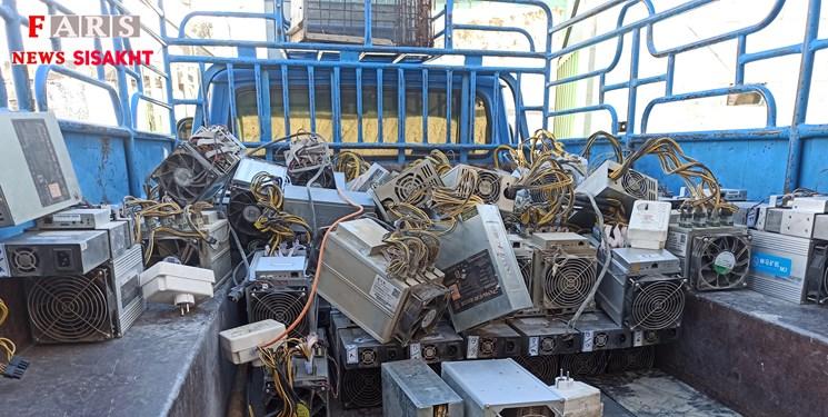 کشف و ضبط ۷۸ عدد دستگاه ارز دیجیتال قاچاق در دنا