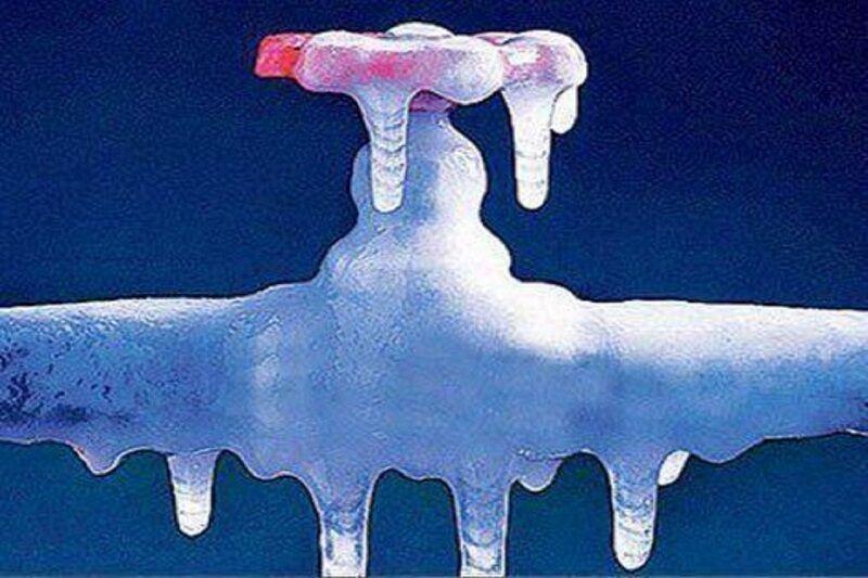 شهروندان استان سمنان مراقب یخزدگی کنتور و انشعابات آب باشند
