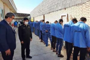 دستگیری ۱۹ سارق مسلح در طرح ارتقای امنیت اجتماعی دزفول