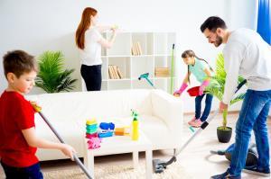 ۱۲ راز تمیز کردن خانه در حداقل زمان ممکن