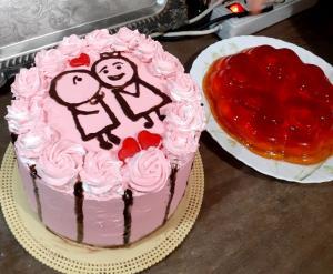از شما/کیک سالگرد ازدواج