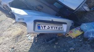 یک کشته در سانحه رانندگی محور خضری-قاین