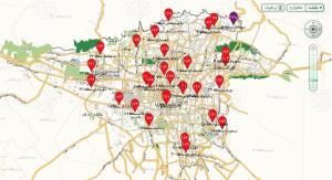 خوش آب و هواترین منطقه تهران، کبود شد