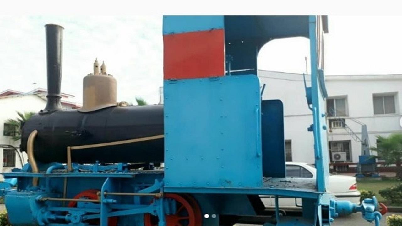 لوکوموتیو انزلی به عنوان میراث صنعتی ثبت می شود
