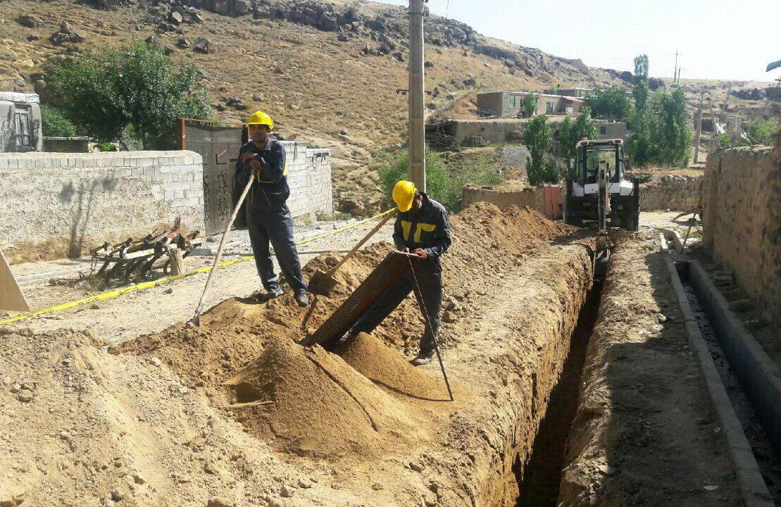 گازرسانی به بیش از ۲۶۰ خانوار مرزنشین خراسان شمالی آغاز شد