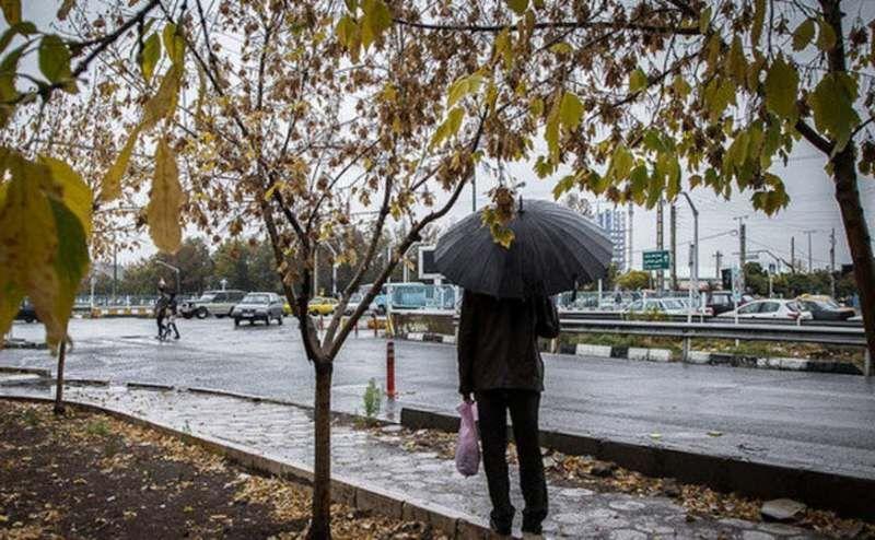 بارشها از عصر امروز در این استانها شروع میشود