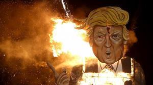 ترامپ در دوزخ