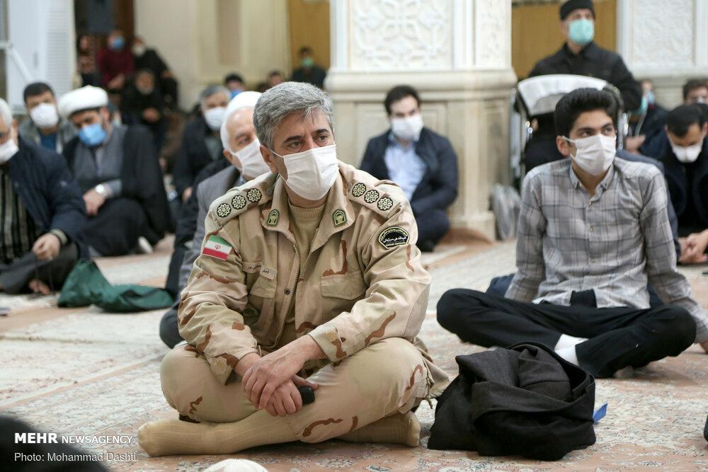 رعایت پروتکل های بهداشتی در نماز جمعه اردبیل