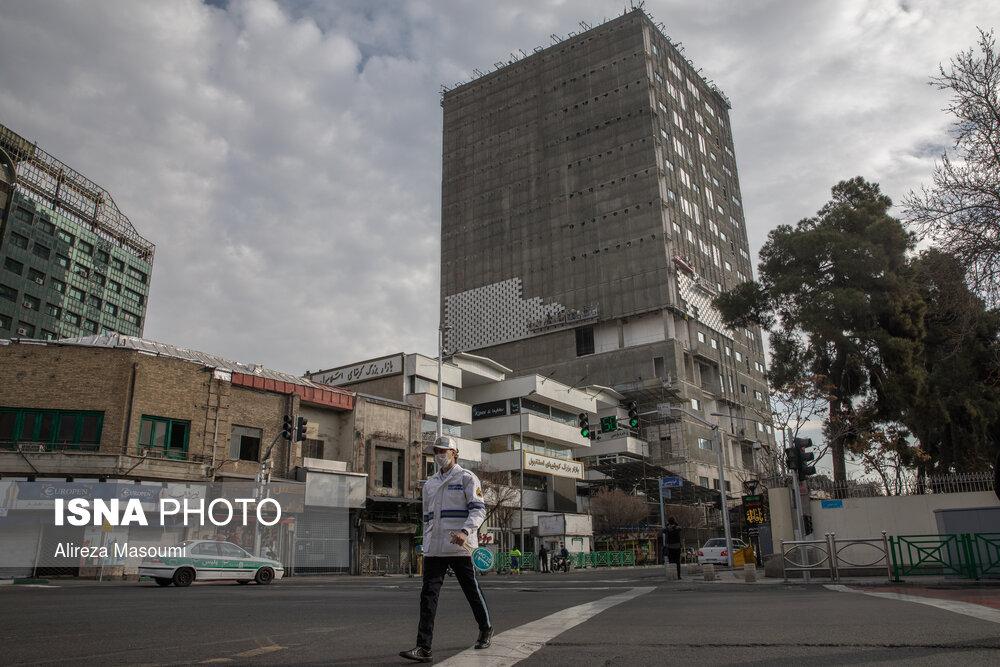 تصاویری از وضعیت ساختمان جدید پلاسکو