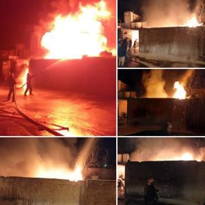 آتش به جان یک منزل مسکونی در زاهدان