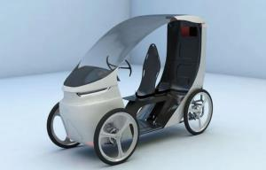 چهارچرخه برقی CityQ معرفی شد