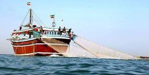 توقیف ۳ فروند لنج ترال در خلیج فارس