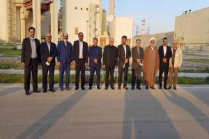 بازدید اعضای کمیسیون انرژی از نیروگاه بوشهر