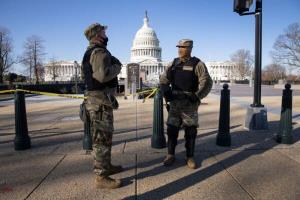 استقرار ۲۱ هزار نیروی گارد ملی در واشنگتن دی سی