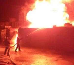 آتشسوزی مهیب در زاهدان