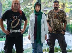 چهره ها/ گریم المیرا دهقانی در فیلم «سیاه باز»