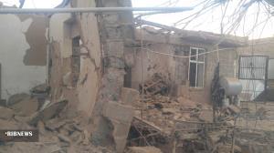 تخریب منزل مسکونی در دیهوک