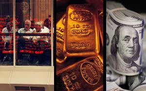 اُفت دستهجمعی بازارهای مالی در ایران