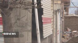عکس/ خسارات ناشی از تندباد در مشگینشهر